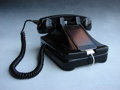 Use your iPhone and still experience the thrill of slamming the receiver down on a telemarketer!