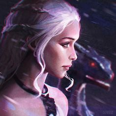 Daenerys! by GUWEIZ.deviantart.com on @DeviantArt