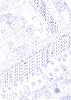 AXO_welovearchitecture: drawing, pavle stamenovic