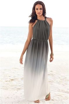 Grey Ombre Maxi Dress from the Next UK online shop