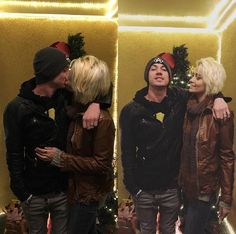Paris Jackson (age 18), with Michael Snoddy on New Years Day 2017.