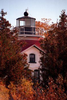 Grand Traverse Light by rexp2, via Flickr