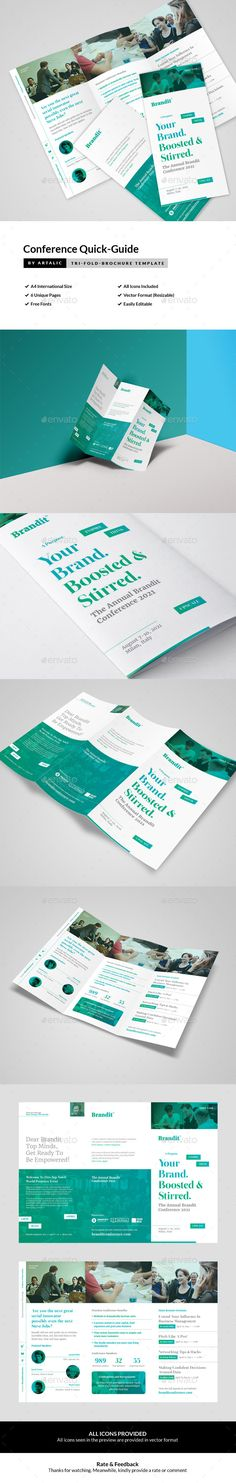 Conference Agenda US Letter by Keboto on @creativemarket - conference agenda template