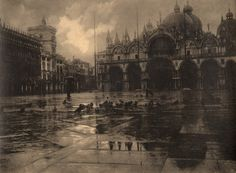 Venice. 1936. Photographer: Léonard Misonne