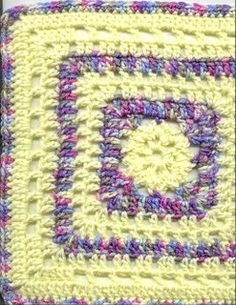MyissaG's Crochet:    January Square Copyright 2003 Melissa Green    ...