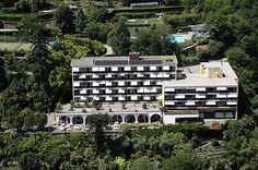 Hotel, Brissago, Tessin, Restaurant, Wellnesshotel, Familienhotel (my great aunt Greta Ryser ran this hotel from 1940-1970.) Families of the Swiss Railroads would vacation here!