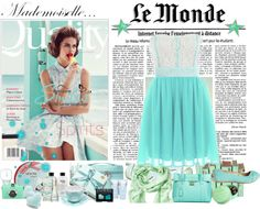 """""""Mademoiselle...."""" by agathed on Polyvore"""