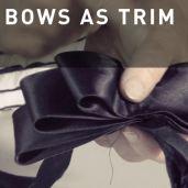 06 - BOWS AS TRIM #millinery #judithm #bows