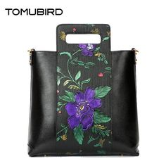 (178.90$)  Watch now  -  Tomubird   2017 new first layer of leather handbags Europe and the United States fashion shoulder Messenger bag