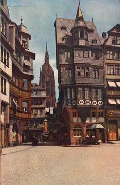 Frankfurt, Cities In Germany, Strasbourg, Beautiful Buildings, Old Town, Kansas City, Renaissance, Maine, Medieval