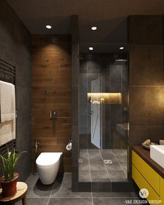 Interior bathroom in Loft on Behance
