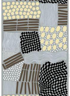 Lakia, design Aino-Maija Metsola for Marimekko pattern design inspiration