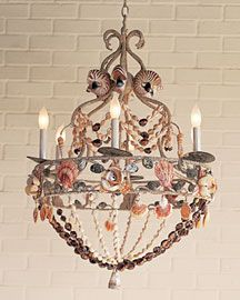 Shell Chandelier- Horchow