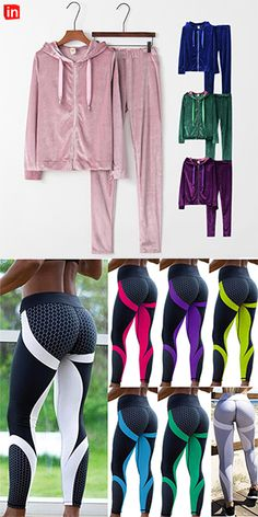 Sporty Outfits, Hot Outfits, Winter Fashion Outfits, Running Leggings, Tight Leggings, Tights Outfit, Compression Pants, Yoga Gym, Purple Yellow