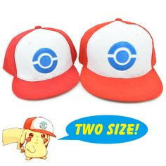 2016 Famous Animation Cartoon Comic Mobile game Pokemon GO Team Pikachu Snapback Caps Hat for Adult Kid Family