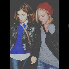 Sendrick/ Bechloe. Anna Kendrick & Brittany Snow