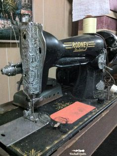 Cleaning Up an Old Sewing Machine