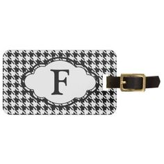 =>>Save on          Monogram Luggage Tag - Houndstooth - Black           Monogram Luggage Tag - Houndstooth - Black you will get best price offer lowest prices or diccount couponeThis Deals          Monogram Luggage Tag - Houndstooth - Black Review from Associated Store with this Deal...Cleck Hot Deals >>> http://www.zazzle.com/monogram_luggage_tag_houndstooth_black-256762863151128393?rf=238627982471231924&zbar=1&tc=terrest