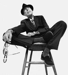 Leonard Cohen by Platon Antoniou