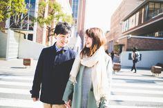 大阪 近畿大学で普段着で結婚式前撮り! | 結婚式の写真撮影 ウェディングカメラマン寺川昌宏(ブライダルフォト)