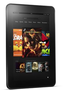 Amazon Kindle Fire and HD 7-inch Tablets