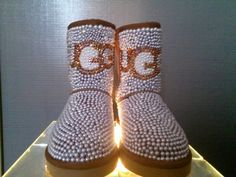 Custom Ugg Boot by WEWTrends on Etsy