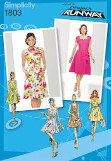 Cassie Stephens: DIY: A Mid Century Mod Dress