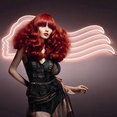 why i love Wella color! Passionista, a 2011 Wella Trend Love Hair, Great Hair, Vibrant Red Hair, Cosmetology, Pretty Hairstyles, Hairdresser, Make Me Smile, Redheads, Hair Color