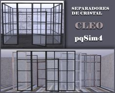 Sims 4 CC's - The Best: Cleo Windows by pqSim4