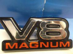 97-02 Dodge RAM Durango Dakota V8 MAGNUM Emblem Decal OEM M3 #Moparoemfactorystockgenuine