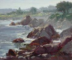 Morning Mist by Kathleen Dunphy Oil ~ 10 x 12