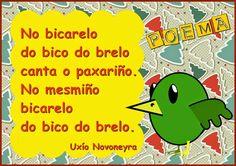 Resultado de imaxes para poemas para peque en galego