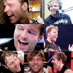 Dean's ADORABLE smiles