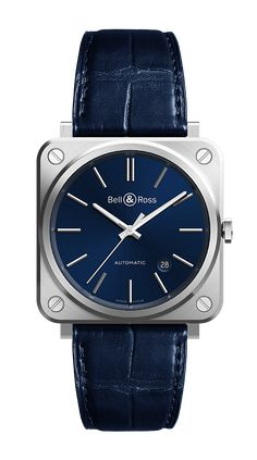 Bell & Ross BR S Automatic | We love this unique dress watch.