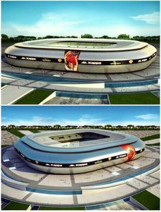 New stadium concept AS ROMA