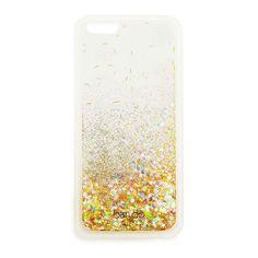 [monogram] glitter bomb iphone case