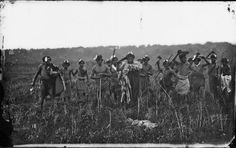Ngati Whatua group at Kaipara, probably performing a haka, photographed in 1863 by Daniel Manders Beere. Note the dog in the foreground. Nz History, Family History, Polynesian People, Maori Designs, Old Photographs, Photos, Maori Art, Auckland, Ancestry