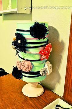So many! Dish soap etched glass idea; hair band holder; save meaningful flowers; baseball bracelet; tile coaster gift set...ETC