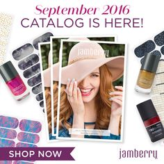The new Jamberry catalog has everything you need for beautiful nails and skin! Check out the latest nail art trends! - Dana #ghousejams