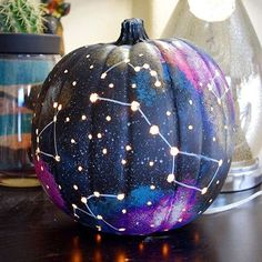 46 Perfect Diy Pumpkin Decorations Ideas For Home Creative skills are a joy for kids and they'll be proud to show off a number of their creepy Halloween creations. It is not difficult to do for kids. Most kids will truly enjoy that part! Easy Pumpkin Carving, Diy Pumpkin, Pumpkin Crafts, Pumpkin Ideas, Carving Pumpkins, Pumpkin Painting, Painting Pumkins, Pumpkin Designs, Purple Pumpkin