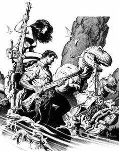 PIXBOX: Xenozoic Tales - By Mark Schultz