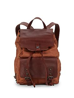 Tracy Leather Backpack