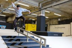 Selfridges Opens Britain's Largest Indoor Skatepark //Vogue.com UK//