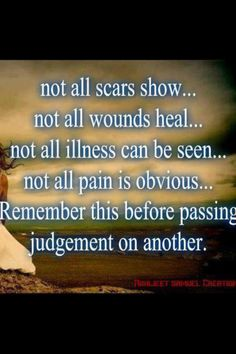 Fibromyalgia...I love this for many things in this world dealing with judging others! It's so much easier to be peaceful, and get along with everyone. TRY IT!!!