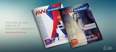 AWSummit Magazine by Catalin Goleanu, via Behance