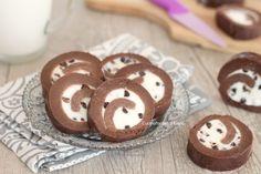 girelle di biscotti ricotta e cioccolato senza cottura