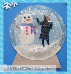 Snow is just not one of those things we get much of in southern California. Despite that, my students still love the thought of snow!Last year while I was visiting my friend Sarah's classroom I saw so many wonderful student projects! One of the projects I fell in love with was the snow globes that …
