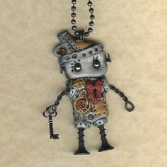 i love this little robot dude!
