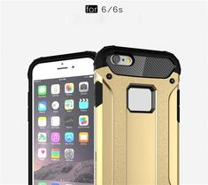 For iPhone 6 Case / iPhone 6S Case Slim Fit Dual Layer Hard Back Cover Bumper Protective Shock-Absorption & Skid-proof Anti-Scratch Case for Apple iPhone 6 / 6S 4.7 inch - US$4.39 Sales Online gold&black - Tomtop Smartwatch, Apple Technology, Iphone 6 Cases, Apple Iphone 6, Slim, Cover, Gold, Black, Smart Watch