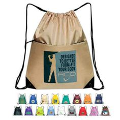 $3.25 each / 50 pieces minimum qty - Wild West Ink Promotional Products - All-Purpose Drawstring Tote II Tote Bags - SP-02 - www.WildWestInk.com - 888-259-9668